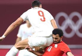 المپیک توکیو؛ تساوی اسپانیا مقابل مصر در دیدار افتتاحیه فوتبال