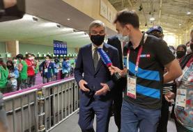 بازدید باخاز رقابتهای تیراندازی بازیهای المپیک توکیو