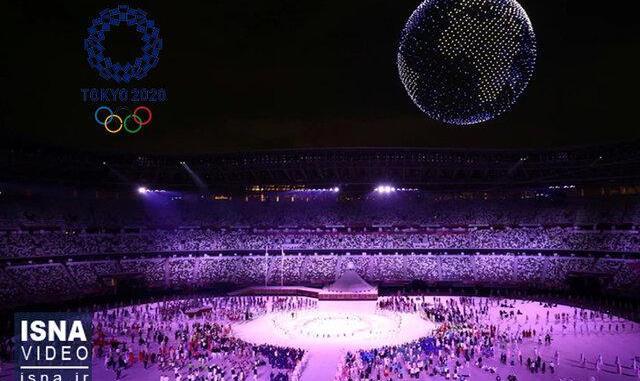 ویدئو / مراسم افتتاحیه المپیک۲۰۲۰ توکیو