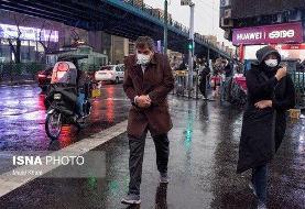 عصر امروز و امشب رگبار پراکنده در این استانهای کشور