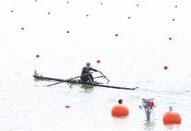 سرگردانی قایقرانهای المپیک به خاطر شرایط آب و هوایی!