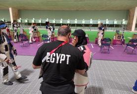 حضور سه دختر مسلمان در رقابت تفنگ ۱۰ متر المپیک توکیو