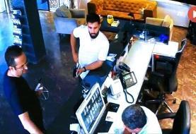 علی خطیر در هتل داور جنجالی لیگ یک/عکس
