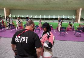 حضور تیراندازان محجبه در المپیک توکیو