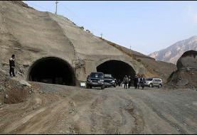 سرعت ساخت آزادراه تهران - شمال بخاطر کمبود سیمان کُند شد