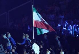 ترکیب کاروان ورزش ایران در مراسم افتتاحیه مشخص شد