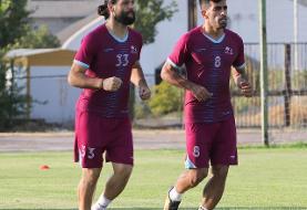 یک پرسپولیسی علیه تیم گلمحمدی/عکس