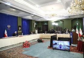 روحانی: مشکلات خوزستان باید طبق دستور رهبری حل و فصل شود