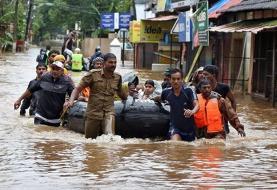 سیانان: قربانیان سیل هند به ۱۳۶ نفر رسید