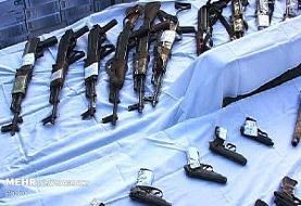 محموله سلاح قاچاق در خوزستان کشف شد