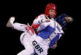 صعود کیمیا علیزاده با شکست دادن قهرمان دو دوره المپیک