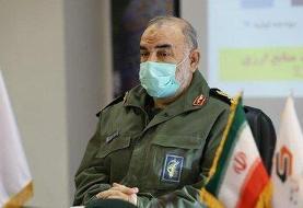 فرمانده کل سپاه به خوزستان رفت /جزئیات سفر سرلشکر سلامی