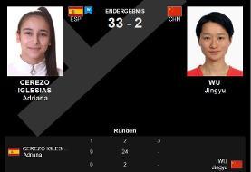 بلایی که دختر ۱۷ ساله اسپانیایی سر قهرمان چینی آورد