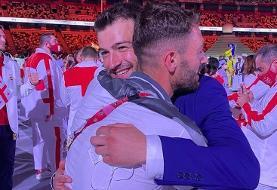 عکس | دیدار دو برادر سوری پس از سالها در افتتاحیه المپیک توکیو ۲۰۲۰