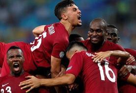 ادامه درخشش تیم ملی فوتبال قطر در جام طلایی