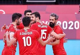 پیروزی یک طرفه والیبال ایران مقابل ونزوئلا + فیلم