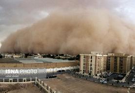 پیشبینی وقوع طوفان شن در سه استان/افزایش ارتفاع موج در دریای خزر و ...