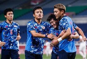 فوتبال المپیک ۲۰۲۰   صعود ژاپنیها با شکست مکزیک