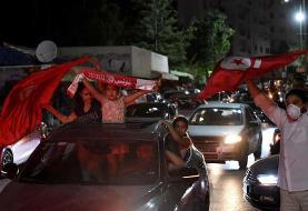 رئیسجمهور تونس پارلمان را تعلیق کرد | نخست وزیر   برکنار شد | جشن خیابانی مردم در خیابانهای پایتخت