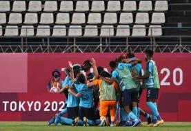 کامبک هندوراس مقابل نیوزلند در فوتبال المپیک ۲۰۲۰