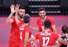 حاشیههای بازی ایران - ونزوئلا/ فضای شاد سالن والیبال با پخش موسیقی ایرانی