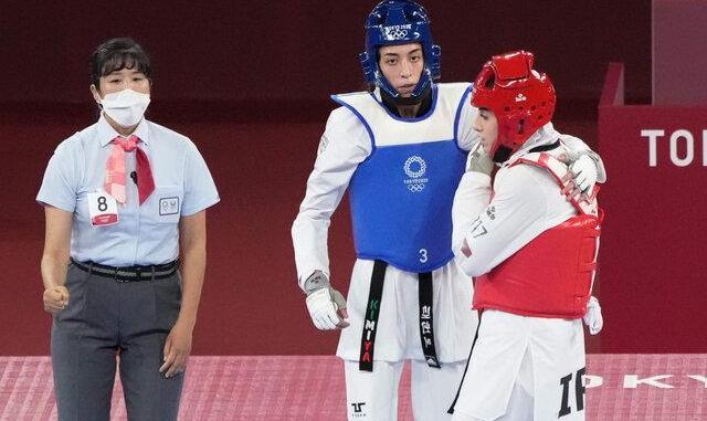 کیمیا علیزاده در توکیو به مدال المپیک نرسید