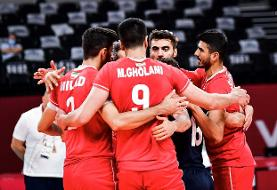 المپیک توکیو؛ والیبال ایران بدون دردسر از سد ونزوئلا گذشت