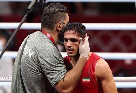 المپیک توکیو؛ شاهین موسوی، بوکسور ایران در دور اول حذف شد