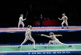 افسوس مدال المپیک برای شمشیربازی ایران/ شکست میلیمتری از ایتالیا  در روز درخشش پاکدامن