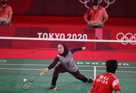 پایان کار بانوی بدمینتون باز ایران/«آقایی» از المپیک کنار رفت