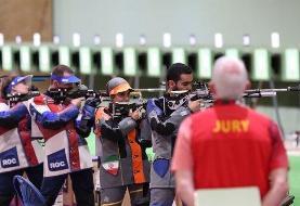 تیم میکس تفنگ به نیمه نهایی المپیک نرسید
