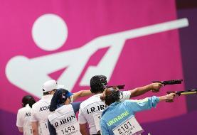 تیم میکس تپانچه ایران از صعود به فینال المپیک بازماند