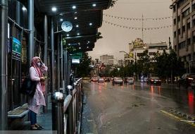 بارش پراکنده در برخی نقاط کشور/ دمای هوای اهواز از ۵۰ درجه عبور میکند