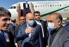 قالیباف در راس هیات پارلمانی وارد سوریه شد/ رفع موانع تجاری ایران و سوریه تمرکز اصلی سفر
