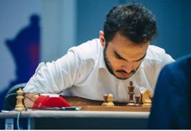 «طباطبایی» در جمع هشت شطرنج باز برتر جهان