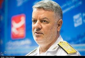 پیام حضور ناوگروه نیروی دریایی ارتش ایران در روسیه از زبان دریادار خانزادی