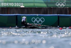 نازنین ملایی شانس مدال المپیک را از دست داد
