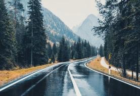 ترافیک سنگین در مسیر جنوب به شمال جاده کندوان/ باران در ۳ جاده تهران-شمال