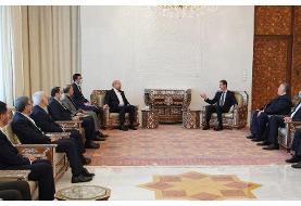 بشار اسد در دیدار با قالیباف: ایران شریک اصلی سوریه است