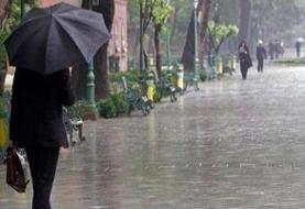 بارندگیها در شمال کشور شدت میگیرد