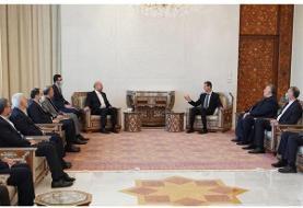قالیباف با بشار اسد دیدار کرد