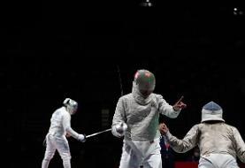 المپیک توکیو؛ تیم شمشیربازی ایران آمریکا را شکست داد