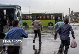 بارش شدید باران در ۷ استان/افزایش ارتفاع موج تا ۴ متر در دریای عمان