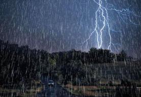 هشدار هواشناسی درباره رگبار باران و طغیان برخی رودخانهها