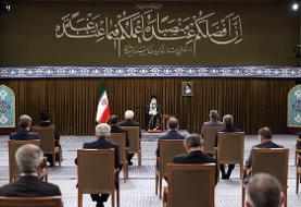 آیتالله خامنهای: در این دولت معلوم شد اعتماد به غرب جواب نمیدهد