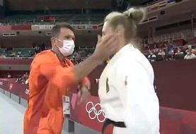 ویدئو | ماجرای سیلی جنجالی به صورت جودوکار زن در المپیک | افشای دلیل برخورد خشن با ورزشکار آلمانی