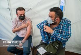 آغاز واکسیناسیون خبرنگاران علیه کرونا (عکس)