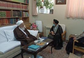وزیر اطلاعات با مراجع عظام تقلید دیدار کرد