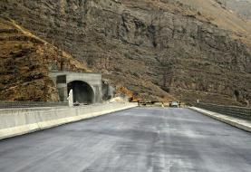 بلندترین تونل خاورمیانه در آزاد راه تهران – شمال گشایش یافت