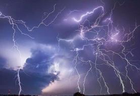 هشدار هواشناسی نسبت به رگبار و رعد و برق در نقاطی از استان کرمان